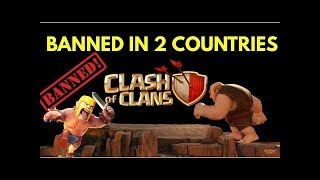 (WHAT HAPPEN IF CLASH OF CLANS BANNED IN INDIA AND PAKISTAN...................