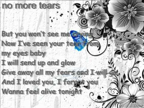 Lora-No more tears [ Lyrics ]