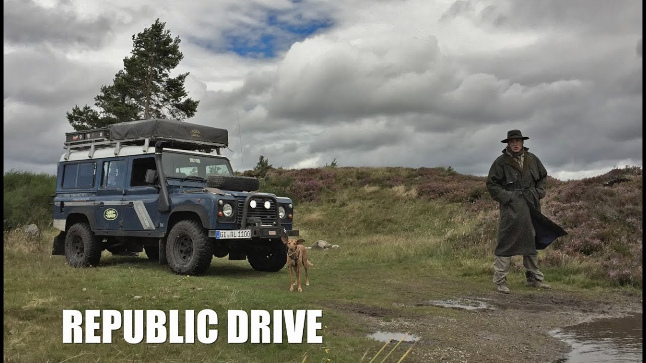 scotch traveling scotland by land rover defender youtube. Black Bedroom Furniture Sets. Home Design Ideas