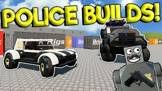 BEST LEGO POLICE CREATION BUILD OFF! - Brick Rigs Gameplay - Lego City Toy Creations
