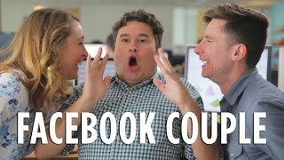 If Couples Acted Like They Do On Facebook