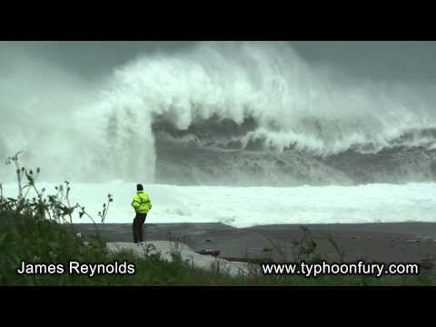 Raging Seas - Terrifying Surf, Storm Surge and Rogue Waves!