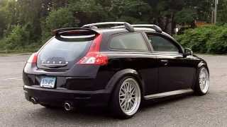 "Volvo C30 T5 Polestar Tuned with 3"" Turbo Back. Elevate Catback, OBX Down Pipe"