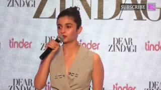 Alia Bhatt Singing Ae Zindagi Gale Laga Le for fans
