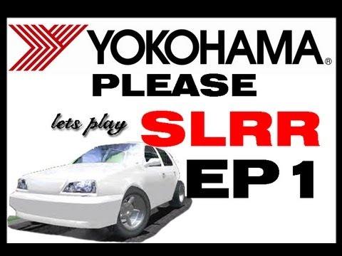 Lets Play SLRR - Episode 1 - Street Legal  Racing Redline