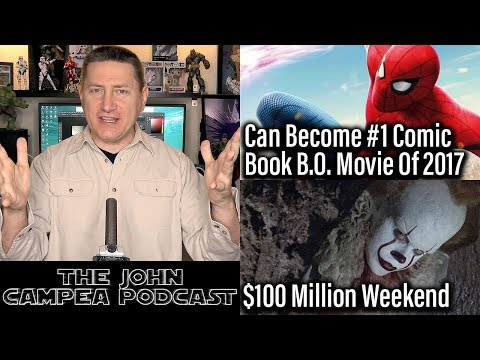 Spider-Man Poised To Become #1 Comic-Book Box Office Film Of 2017 - The John Campea Podcast
