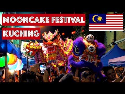 KUCHING MOONCAKE FESTIVAL (MID AUTUMN FESTIVAL) || TRAVEL MALAYSIA