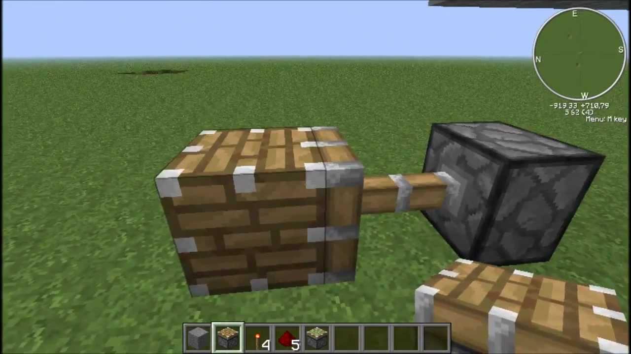 Comment cr er un nouveau bloc tuto minecraft youtube - Comment creer un chateau dans minecraft ...