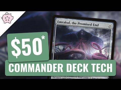 Emrakul, the Promised End   EDH Budget Deck Tech $50   Eldrazi   Magic the Gathering   Commander