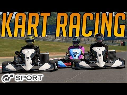 Gran Turismo Sport: Kart Races Are Mental