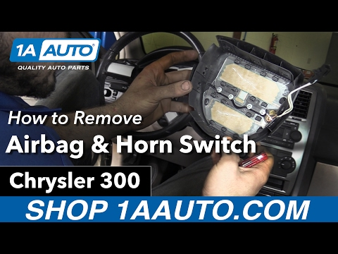 How to Remove Install Airbag & Horn Switch Cover 06 Chrysler 300 Buy Quality Parts at 1AAuto.com
