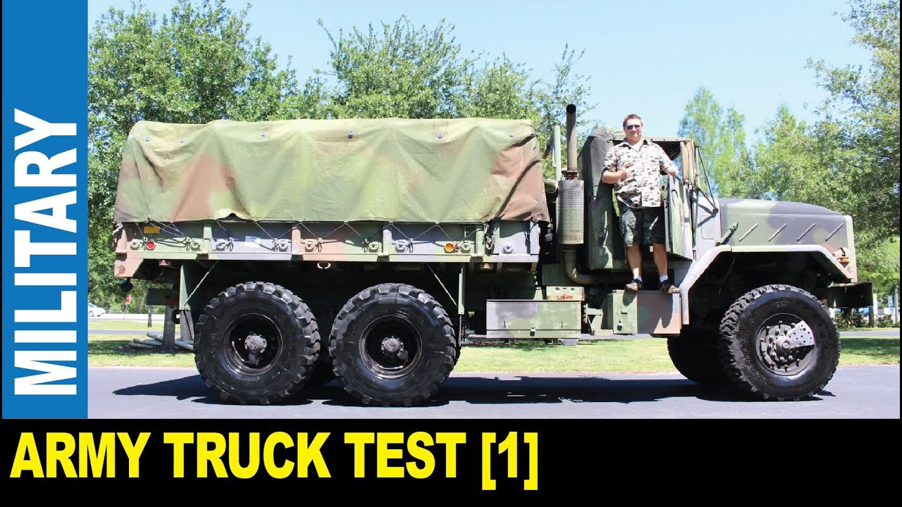 Military truck [Part 1] GMC M939a2 1990 6X6 8 3L diesel army cargo | Jarek  in Clearwater Florida USA