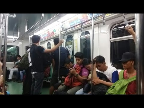 LRT Line 1 - Inside Third Gen Kinki Nippon Sharyo LRV #1228 + EXTRA CLIP