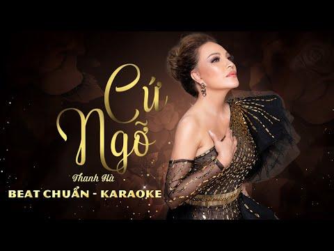 Thanh Hà - Cứ Ngỡ | Beat Chuẩn Karaoke
