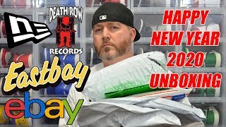 HAPPY NEW YEAR 2020 UNBOXING NEW ERA DEATH ROW EASTBAY EBAY & MORE