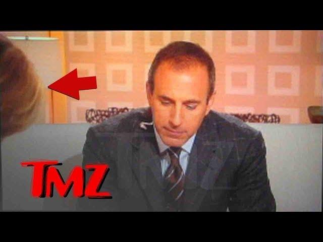 Matt Lauer Caught on Video Telling Meredith Vieira, \'Keep Bending Over, Nice View\'