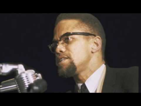 Malcolm X  in a heated debate with Gordon Hall  -  Feb 18, 1965