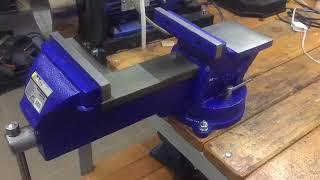 Тиски  «сталь» 125 мм подробный обзор для желающих их купить