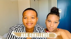 ABC CHALLENGE || LOCKDOWN || SOUTH AFRICAN LESBIAN COUPLE