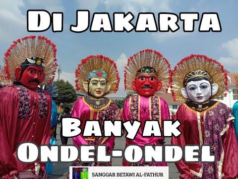 OndelOndelKesenianDjakarta     Dijakarta banyak Ondel-ondel Sanggar kesenian Betawi Al-Fathur