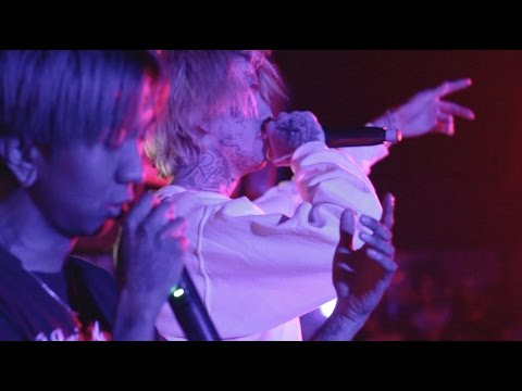 lil peep - big city blues w/ cold hart + right here w/ horse head live at nature world