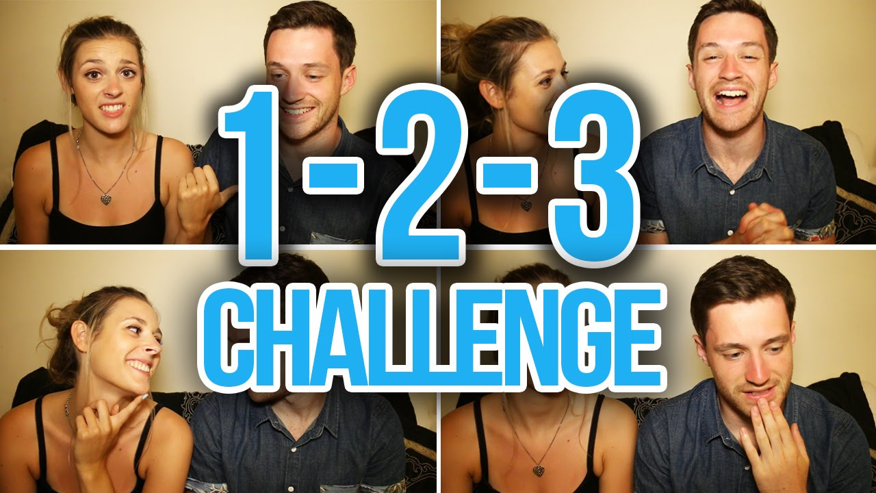 1 2 3 couples challenge spencer alex youtube