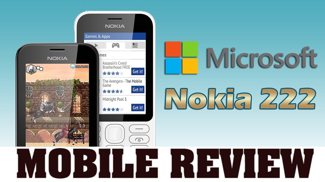 माइक्रोसॉफ्ट ने लांच किया नोकिया 222 ड्यूल सिम फोन : Microsoft announces  Nokia 222 Dual SIM