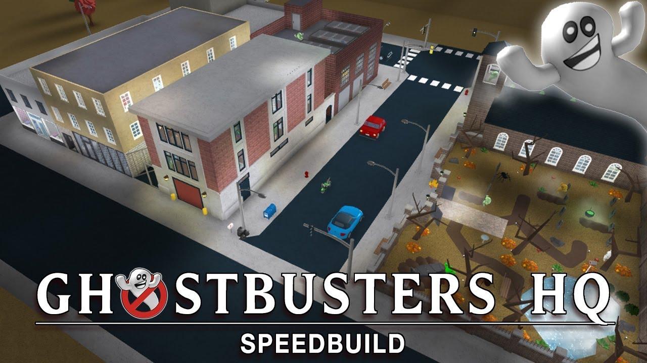 Roblox Bloxburg Ghostbusters Headquarters Haunted City