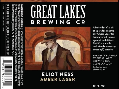 Philly Brew Reviews 137 - Great Lakes Eliot Ness Amber Lager
