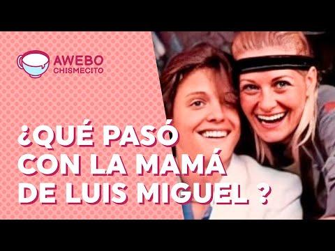 ¿Qué pasó con MARCELA BASTERI, la mamá de LUIS MIGUEL? | Awebo Chismecito