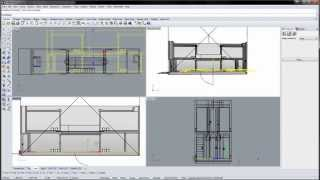 Azuma House Part 4 of 4: Sections, hatches and layout