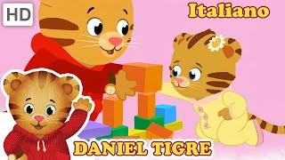 Daniel Tiger in Italiano - Canzoni Con Mia Sorellina | Video per Bambini