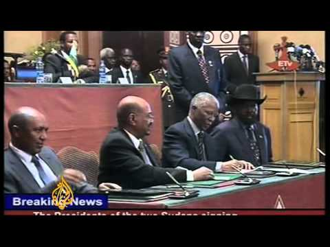 Khartoum and Juba sign peace agreement