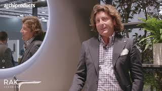 Cersaie 2021 | Rak Ceramics - Leonardo De Muro presenta Valet, Des e i Preziosi