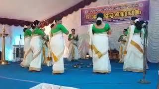 Thiruvathirakali thakarpan simple steps