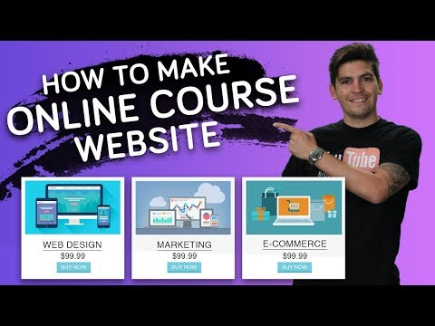 How To Create An Online Course Website With WordPress – NEW!