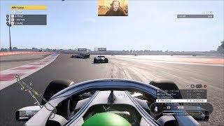 F1 2018 Career Mode Season 1 - Circuit Paul Ricard Qualifying And Race - PC 1080P60 HD