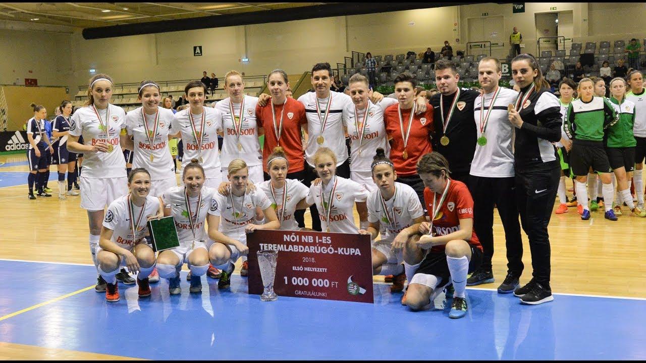 Női NB I-es Teremlabdarúgó-kupa, összefoglaló (60perc)