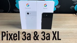 Google Pixel 3a & 3a XL Unboxing and First impressions