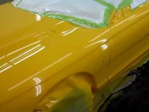 1998 Mustang Paint Job Dupont Chrome Yellow Youtube