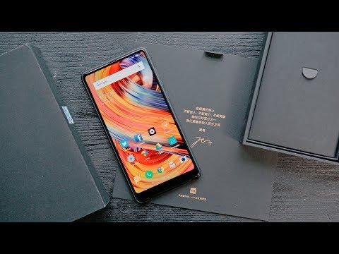 Полный обзор Xiaomi Mi MIX 2