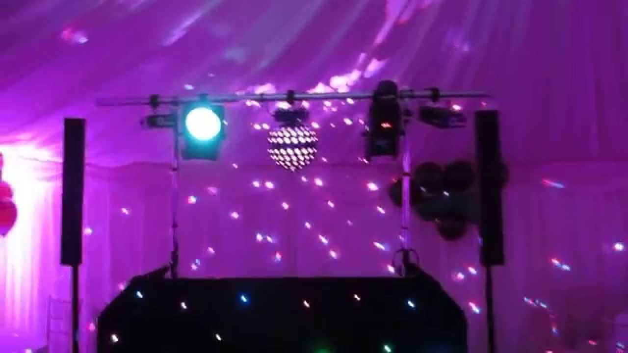 Marquee uplighting