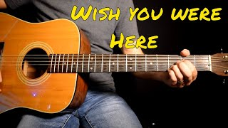 My cover of wish you were here by pink floyd
