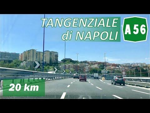 A56 | TANGENZIALE Di NAPOLI | Percorso Completo
