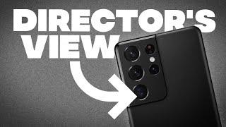 Samsung Galaxy S21 Ultra: Director's View