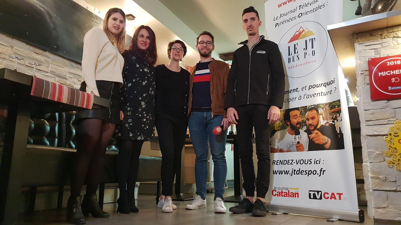 ✅57 JT des PO 1er mag. vidéo du département en DIRECT du restaurant Le 17 à Perpignan - #TVCAT
