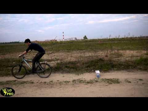 Как прыгать на велосипеде? Научим за 4 минуты! How To JUMP ON A BICYCLE (Eng Sub)