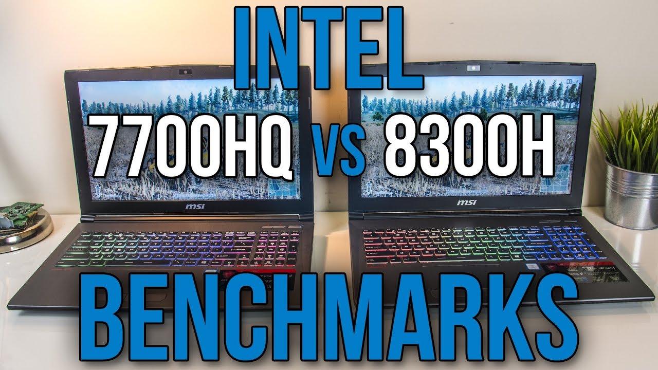 Intel i7-7700HQ vs i5-8300H - Laptop CPU Comparison and