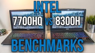 Intel i7-7700HQ vs i5-8300H - Laptop CPU Comparison and Benchmarks