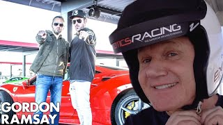 Gordon Ramsay Takes On Zac Efron's Race Time